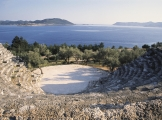 Amfitheater in Kas